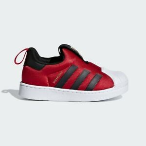 Adidas Toddler Superstar 360 I - Red Scarlet / CG6581 / Baby Kids shoes Sneakers