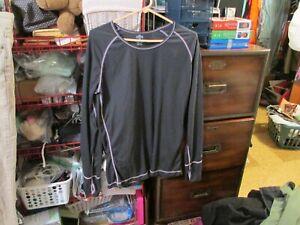 Women's Hot Chillys brand base layer gray size XL-EUC-FREE SHIP