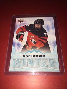 2019 Upper Deck Winter Team Canada Juniors Alexis Lafreniere #W3