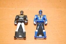 Power Rangers SET OF 2 Black & Blue RANGER KEYS JAPAN BANDAI!!