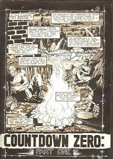 Planet of the Apes: Ape City #14 p.1 - Countdown Zero - 1990 art by M.C. Wyman