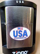 "Zippo ""USA & FLAG"" SUPER COOL - NEU - Z988"