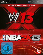 Sony PS3 Playstation 3 Spiel ***** 2 in 1 NBA 2K13 + WWE 13 * 2013 ******NEU*NEW