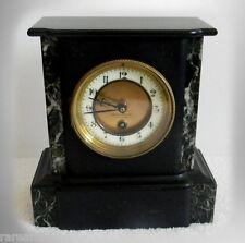 Kienzle vintage marble case mantel clock circa 1910 - FREE SHIPPING