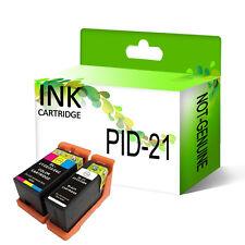 2x Ink Series 21 B+C for DeLL V313 V313w V515w V715w Printer InkJet Cartridges