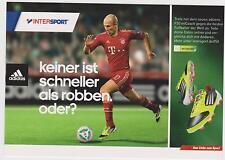 2 x ARJEN ROBBEN * FC BAYERN MÜNCHEN * Nederland * Holland *rare Autogrammkarten