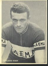 ROGER VERPLAETSE Cyclisme 50s Cycling wielrennen FAEMA