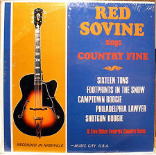 LP- Red Sovine- Country Fine- NEW/Sealed- 1966 Somerset P-24900 MONO- Mint
