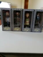 """Set Of 4 Duck Dynasty Bobbleheads 7"""" Phil  Kay Jase  willie"""