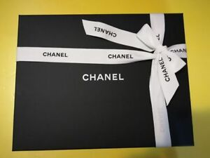 CHANEL Wallet On Chain WOC Empty Box w/ Ribbon , Tissue Paper