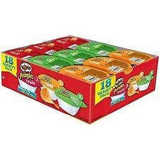 Pringles Snack Stacks Potato Crisps Chips, Flavored Variety Pack, Original, and