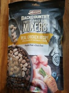 Merrick Backcountry Freeze Dried Raw Mixers Chicken Recipe Dog Food 12.5oz