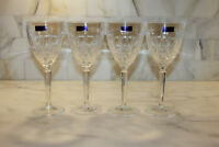 "Waterford Marquis~Sparkle~PARKLING WINE OR WATER GOBLET 8 ""~Lot of 4~NEW"