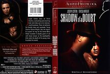 Shadow of a Doubt ~ New DVD ~ Joseph Cotton, Teresa Wright (1942)