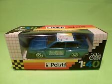 POLISTIL E2024 ALFA ROMEO ALFETTA GT TURBO - RED 1:40 - EXCELLENT IN BOX