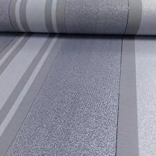 As Creation Papier-Peint Rayé Motif à Paillettes Moderne Cercle Texturé Rouleau