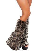 Leopard Legwarmer Legwarmers Animal Print Warmers Roma LW4274 Leg Warmers