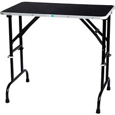 Master Equipment 36 Inch Folding Dog Cat Small Animal Grooming Table (Open Box)