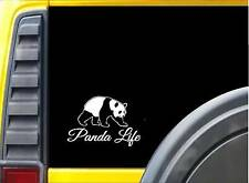 "Panda Life Sticker K687 8"" Vinyl decal"
