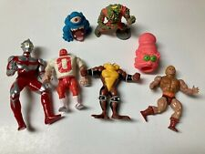 Lot Of 7 Various Vintage Action Figures 80s 90s Ultraman He Man