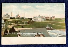 Postcard OH Dayton c.1908 Civil War Soldiers Home Theater Hotel Hospital Church