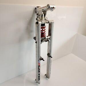 """Rare Vintage Girvin Vector 2 Front Fork & Stem Set Pro-Flex 26"""" MTB USA"""