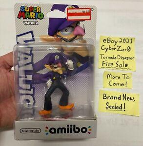 sealed Waluigi amiibo USA version FIRE SALE super mario switch 3DS wii u