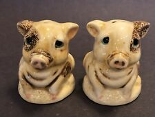 Harmony Kingdom Pot Belly Salt & Pepper Shakers Pigs Piglets Nib