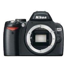 USED Nikon D60 10.2 MP Digital SLR Black Body Excellent FREE SHIPPING