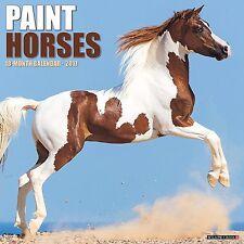 PAINT HORSES - 2017 WALL CALENDAR - BRAND NEW - 341612