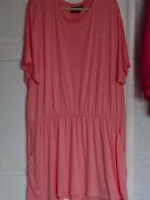 LADIES SIZE 24/26 NEW CORAL DROP WAIST T SHIRT DRESS