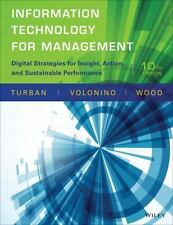 Information Technology for Management : Digital Strategies for Insight, Action,