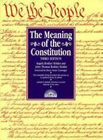 The Meaning of the Constitution, Holder LL.M., Angela Roddey,0764100998, Book, G
