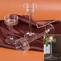 Verre bougie support grand chandelier lumière gobelet mariage Decor artisanat
