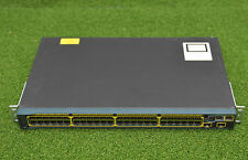 CISCO WS-C2960S-48TD-L48-Port Gigabit Ethernet 2x10G SFP Switch - 1 YEAR WTY
