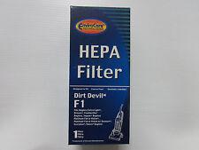 Dirt Devil F1 HEPA Filter fits Breeze Featherlight Jaguar Platinum Force Vision