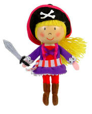 Pirate Girl Finger Puppet Toy Childrens Stocking Filler Party Bag Gift Present
