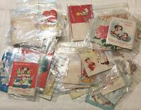 Vintage Greeting Card Lot Halmark Forget Me Not Get Well Birthday Valentine 49