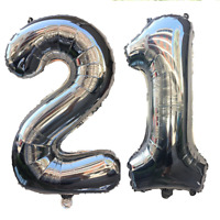 "21st Helium Foil Birthday/Anniversary Balloon 32"" Or 40"""