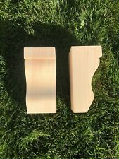 Wooden Corbels (Shelf Brackets) solid pine style BB (1 pair)