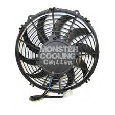 "Monster Cooling 120W 10"" Performance Cooling Fan,Chiller Series, Strong, Quiet"