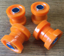 LONDON TAXI LTI TX1 POLY TOP WISHBONE BUSHES x 4 ORANGE