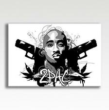 "2pac Tupac Thug Life Canvas Poster Picture Photo Print Wall Art 30"" X 20"""