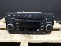 Audio Equipment Radio Receiver Radio AM-FM-CD-MP3 ID RES Fits 08 CARAVAN 411502