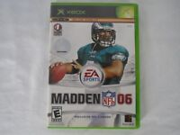 Microsoft Xbox Madden NFL 06 Video Game