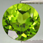 Natural Apple Green Real Peridot AAA Round Faceted Loose Stone (1mm - 10mm)