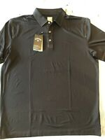 Callaway Opti-Dri Men's Small Performance Polo Golf ⛳️ Shirt Black Short Sleeve