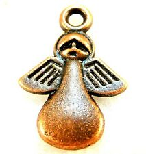 """10Pcs. Tibetan Antique Copper """"Made For An Angel"""" ANGEL Charms Jewelry Tags MB25"""