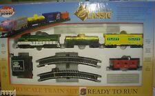 HO TRAINS CLASSIC TRAIN SET SOUTHERN W/ TRACK & POWER PACK  #1028 GP-9 2180 LOCO