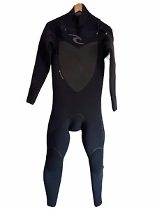 Rip Curl Mens Full Wetsuit Size MT 4/3 Flash Bomb Plus - Retail $519